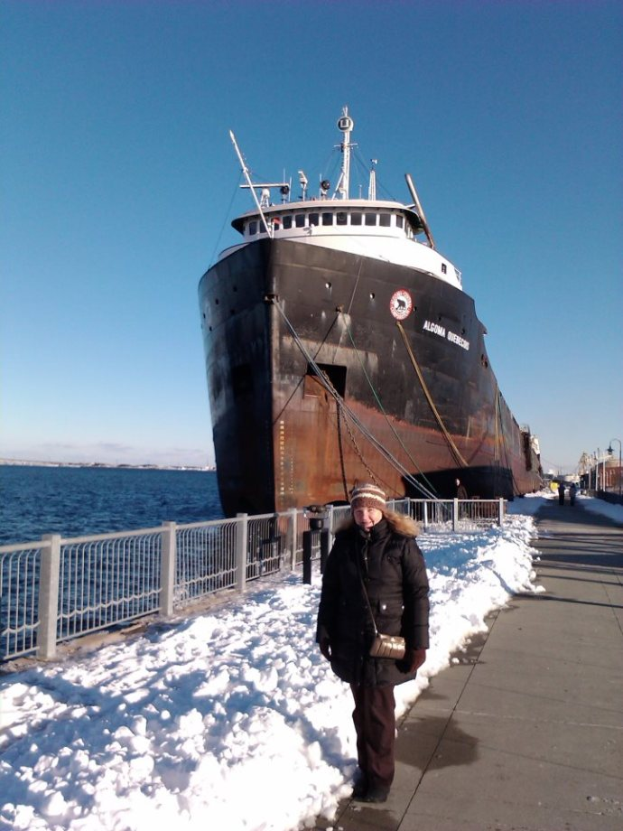 Laura and the not so tiny boat