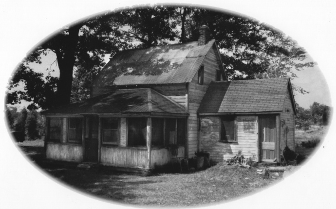 Here is the cottage that I believed to be a regular palace.