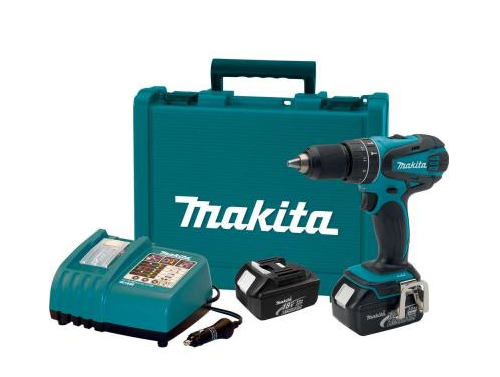 Because, Makita.  $200 set with 12 volt charger